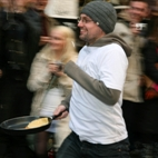 The Great Spitalfields Pancake Race