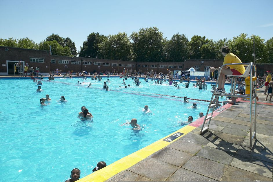 Parliament Hill Lido Images