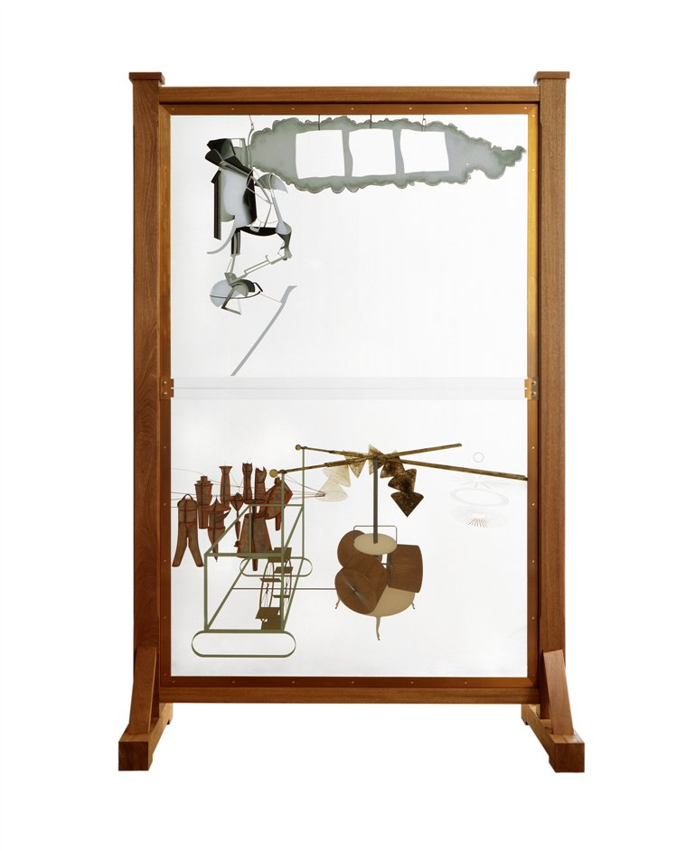 Dancing around Duchamp - Marcel Duchamp, The Bride Stripped Bare by Her Bachelors, Even (The Large Glass), replica of 1915-23/1991-92, � Moderna Museet / Stockholm