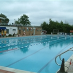 Hampton Heated Open Air Pool hotels title=