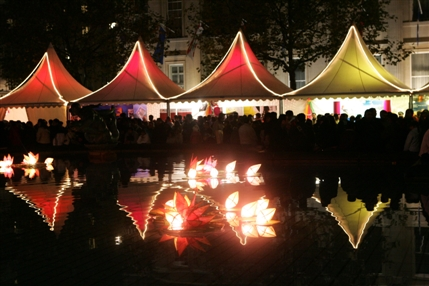 Diwali in the Square