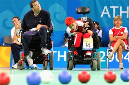 London Paralympics: Boccia