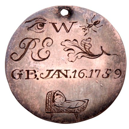 Fate, Hope & Charity - Credit Foundling Hospital Token (C) Foundling Museum, London.