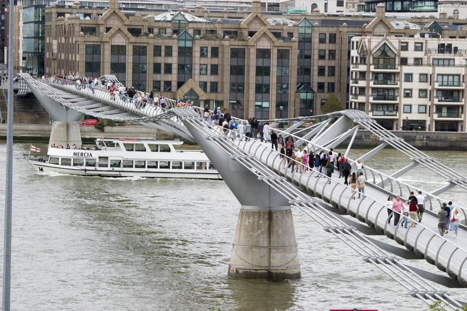 11 Fun Facts About London's Millennium Bridge