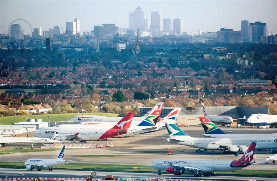 Heathrow Airport - Heathrow - London skyline