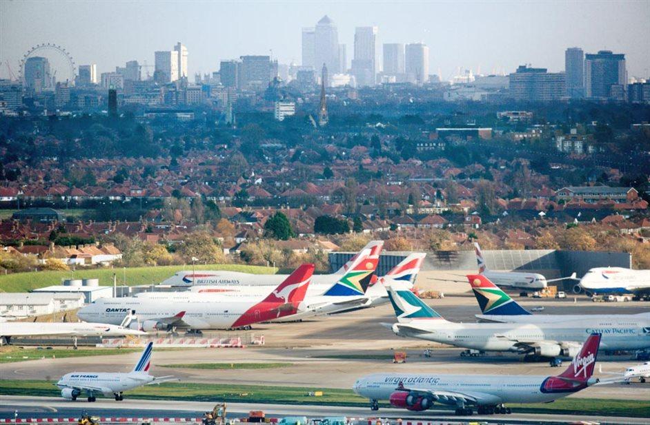 Heathrow Airport - Heathrow - London skyline