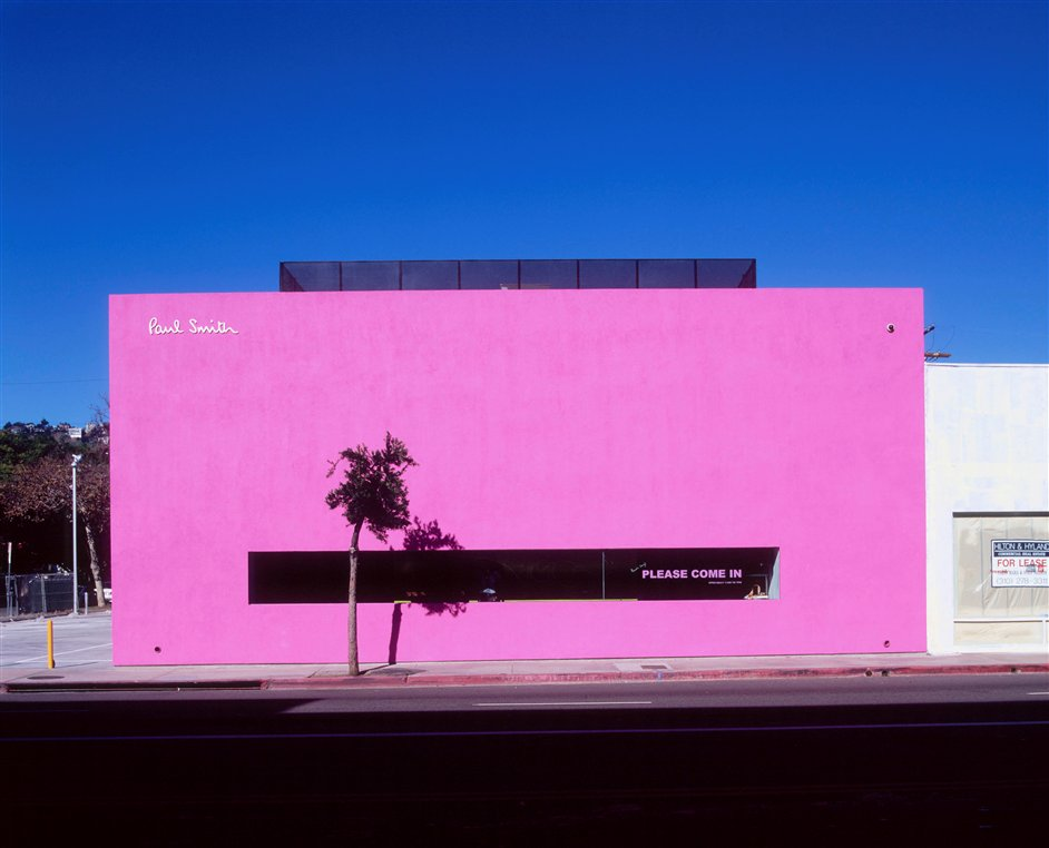 Hello, My Name Is Paul Smith - Paul Smith Los Angeles shop, image courtesy of Paul Smith