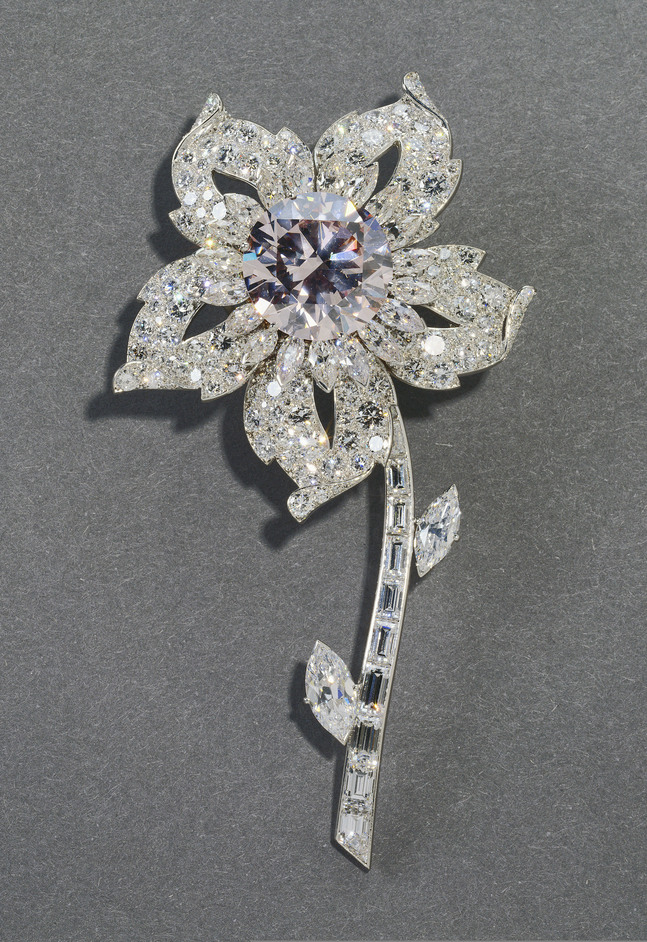 Diamonds: A Jubilee Celebration - The Williamson Brooch, 1953, Cartier, courtesy of The Royal Collection (c) 2011, Her Majesty Queen Elizabeth II