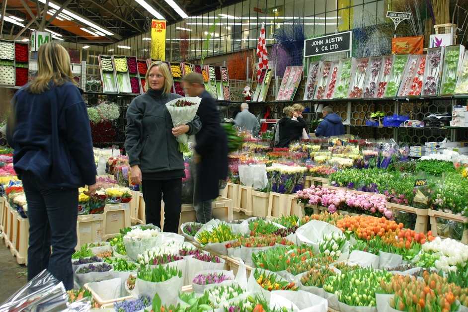 new covent garden flower market images battersea london
