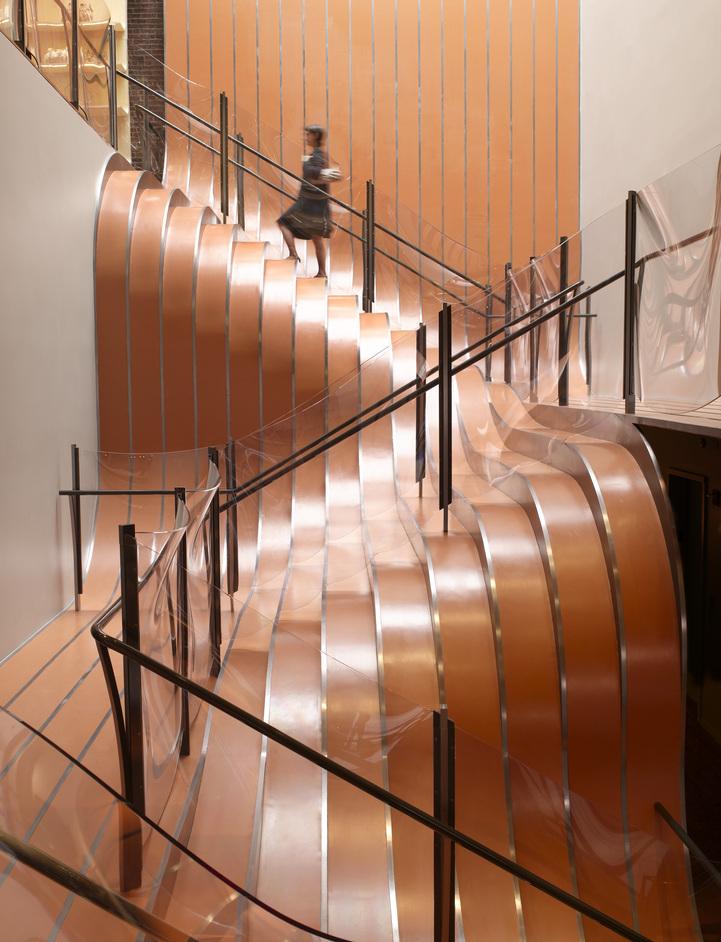 Heatherwick Studio: Designing The Extraordinary - La Maison Unique, Longchamp Store, New York, USA 2006 © Nikolas Koenig