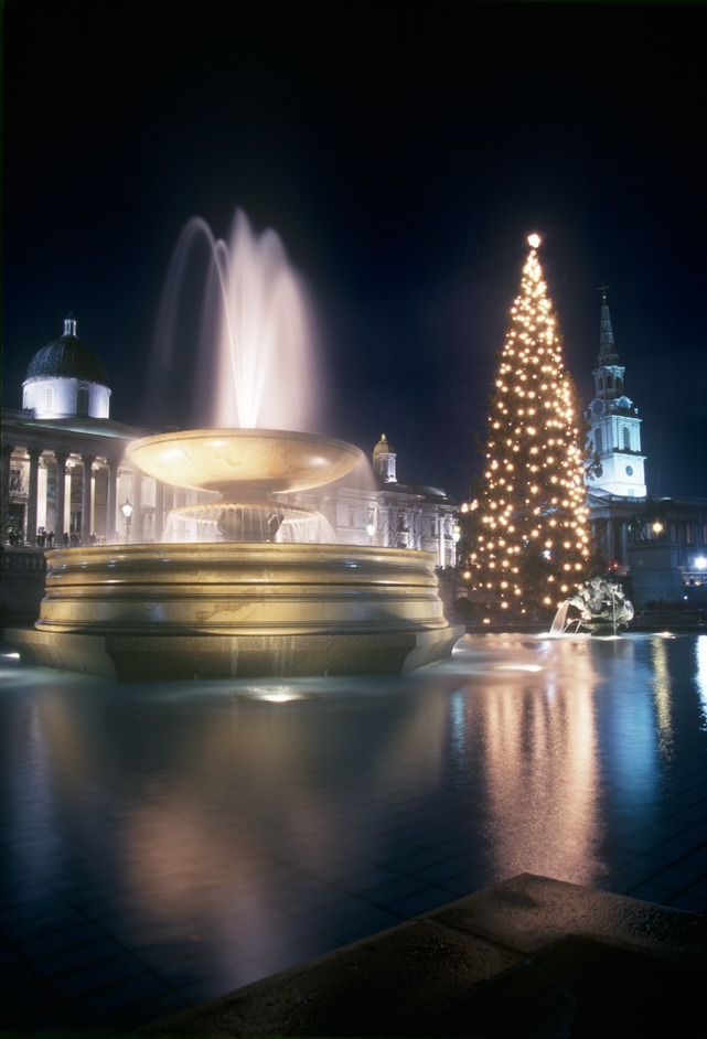 Trafalgar Square Christmas Tree & Carols