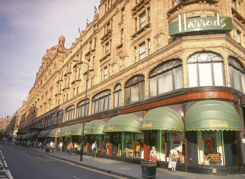 Harrods is getting ready for the festive season