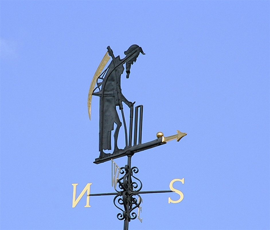 Lord's Cricket Ground - Father Time weathervane at Lord's
