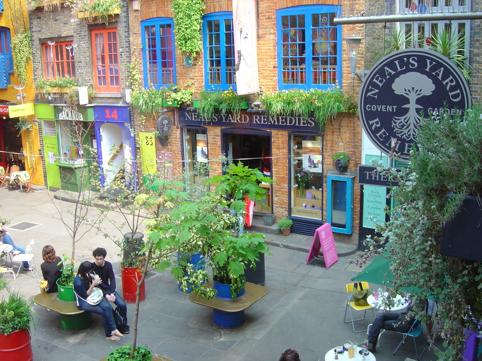 Neal S Yard Therapy Rooms Covent Garden