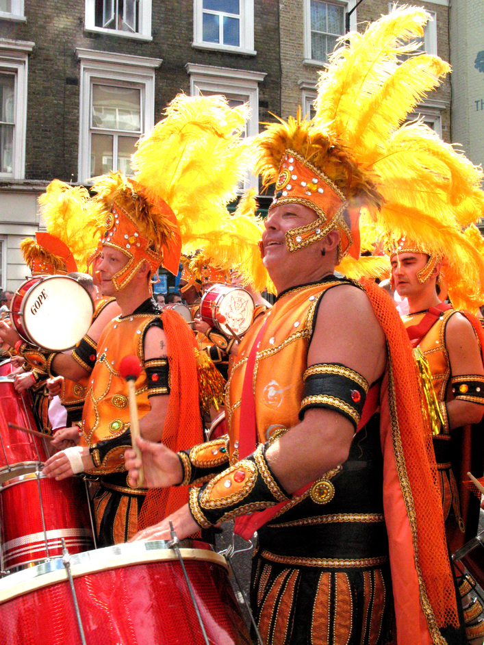 Notting Hill Carnival - A drumming army