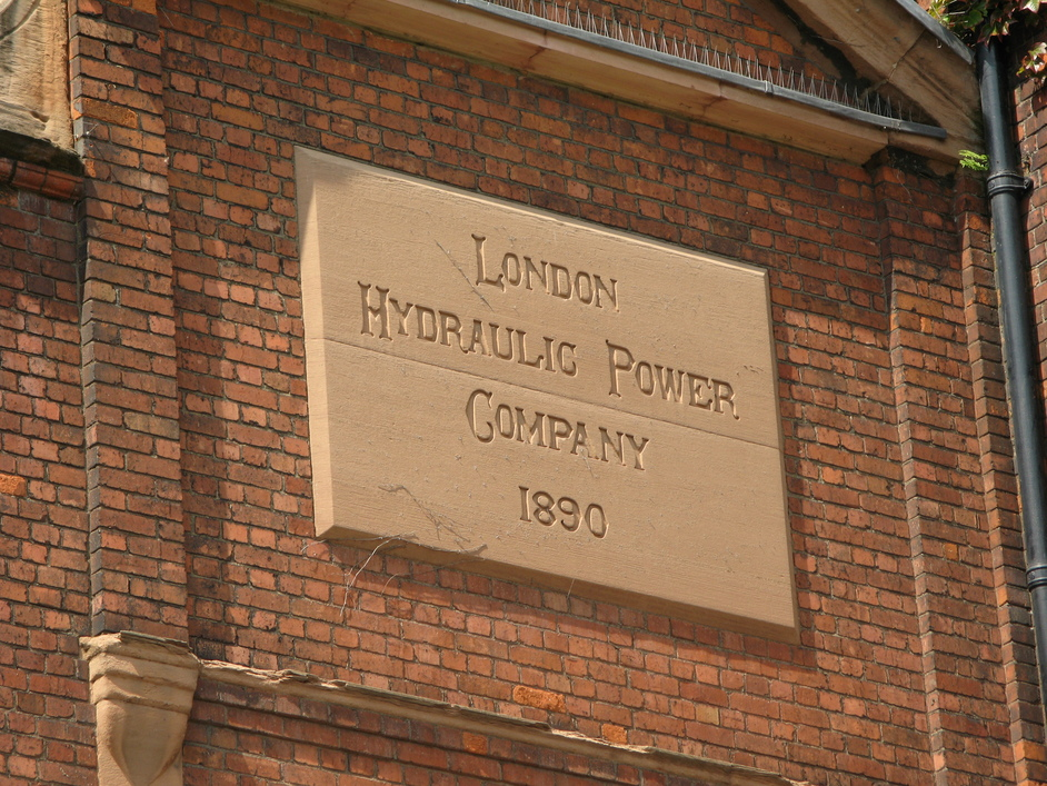 Wapping Wall - London Hydraulic Power Company 1890