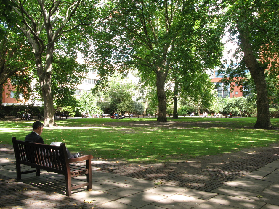 Bunhill Fields - Lunch at Bunhill Fields