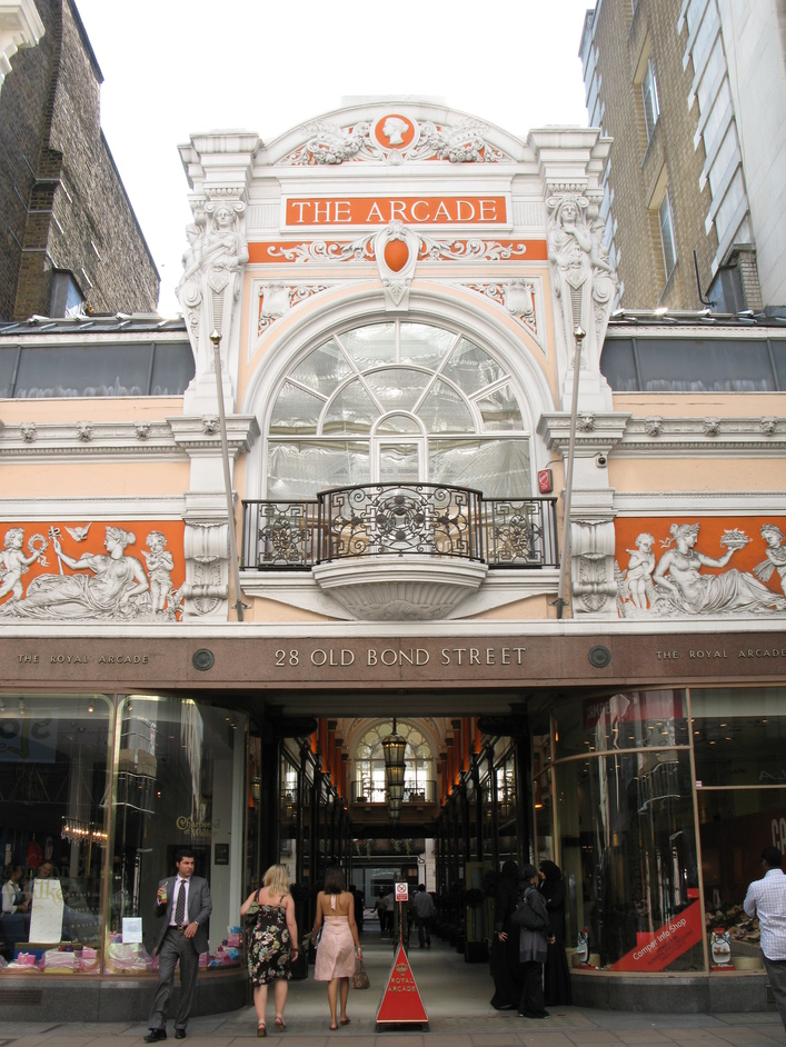 Bond Street - The Arcade on 28 Old Bond Street