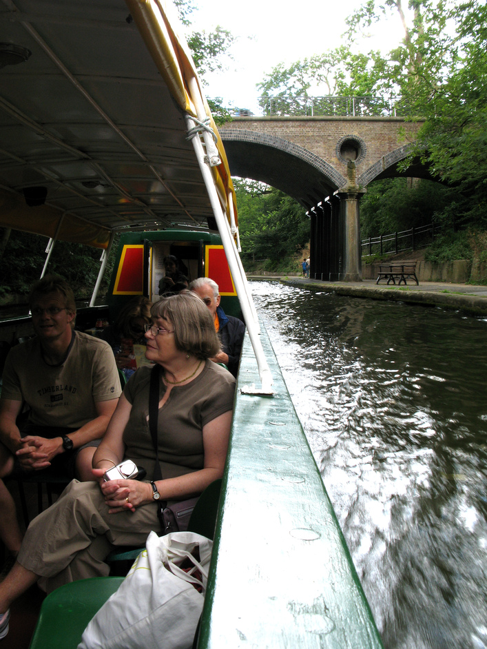 Jason's Canal Boat Trip