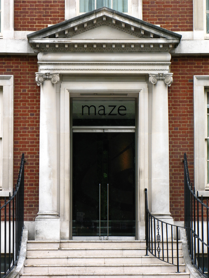 maze - Gordon Ramsay - The entrance of Maze