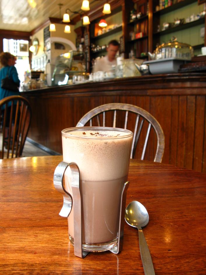 Market Coffee House - Belgian hot chocolate
