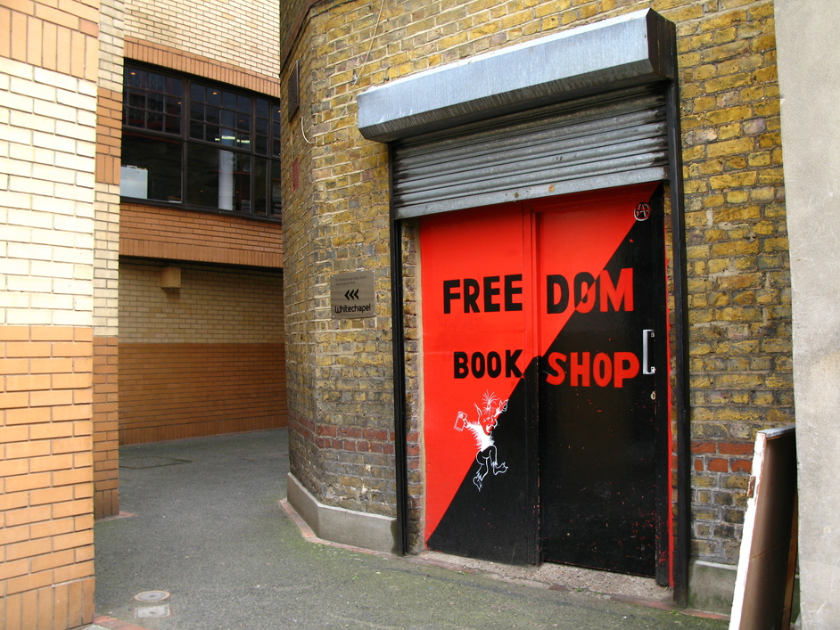 Freedom Press Bookshop - Freedon Press Bookstore (next to Whitechapel Gallery)