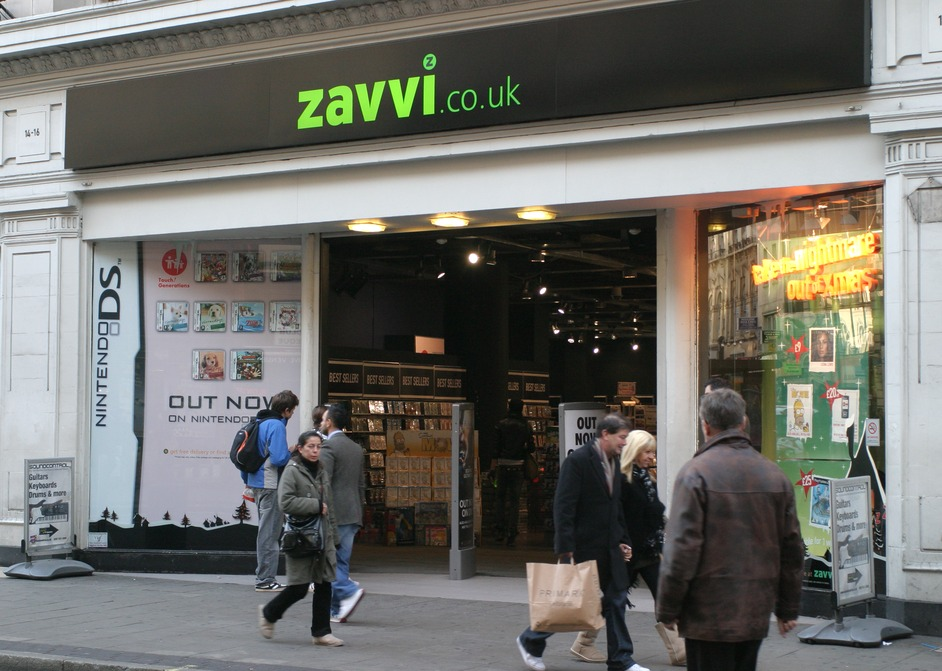 Zavvi (formerly Virgin Megastore)