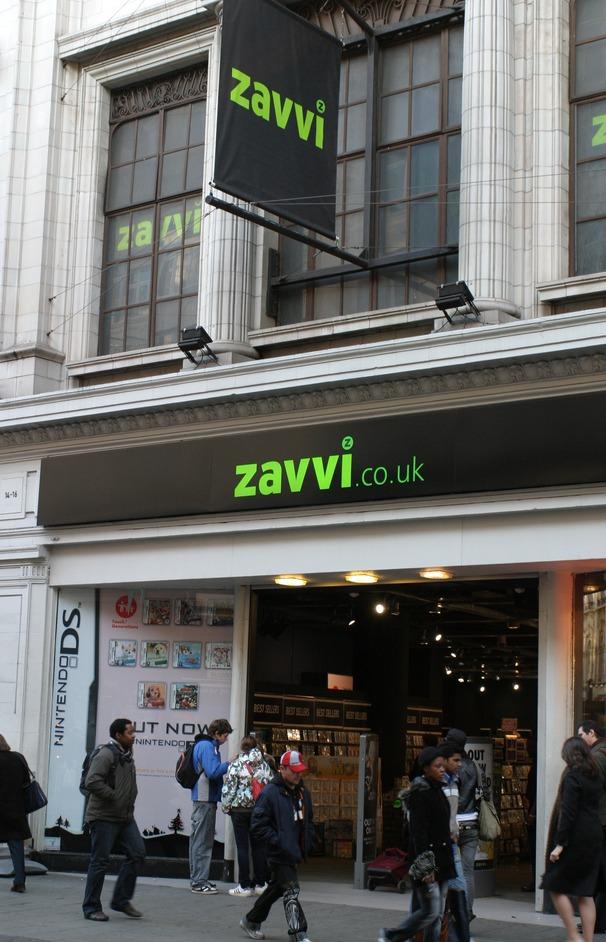Zavvi (retailer) - Wikipedia