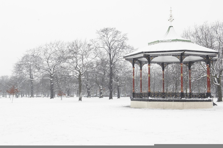 Greenwich Park - Bandstand in Winter - © Colin Streater