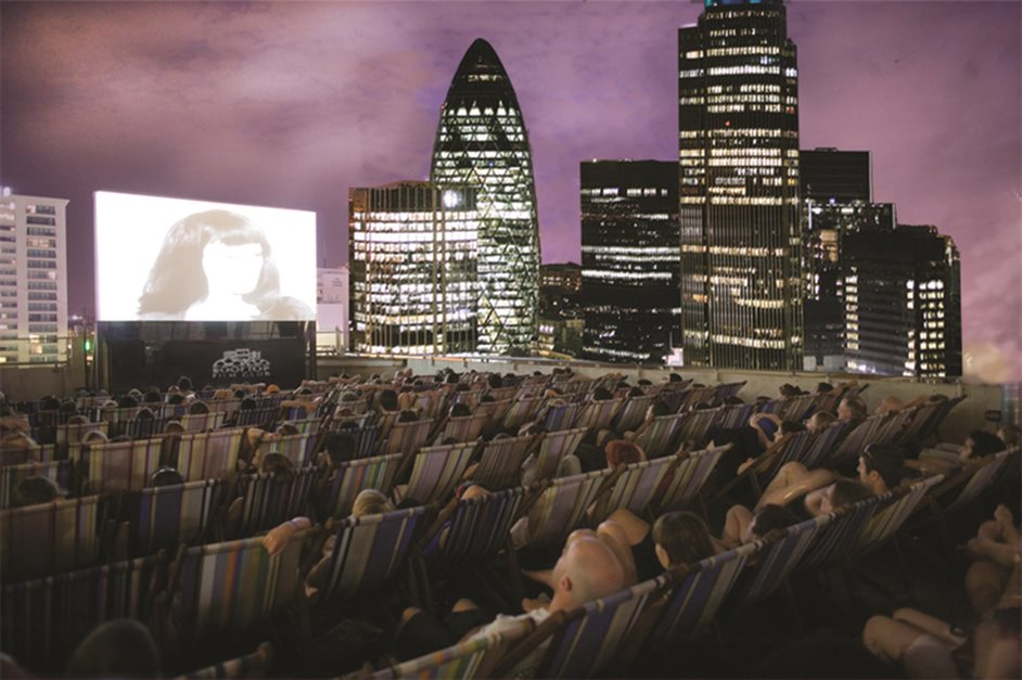Rooftop Film Club At Queen Of Hoxton At The Queen Of