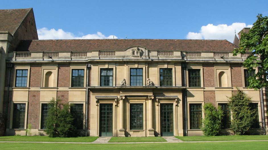 Eltham Palace - The Seely and Paget wing (the bedrooms are on the first floor).