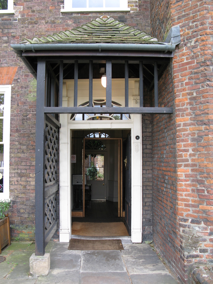 Sutton House - Entrance