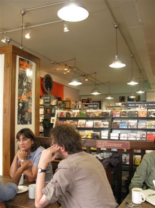 Cafe at Foyles