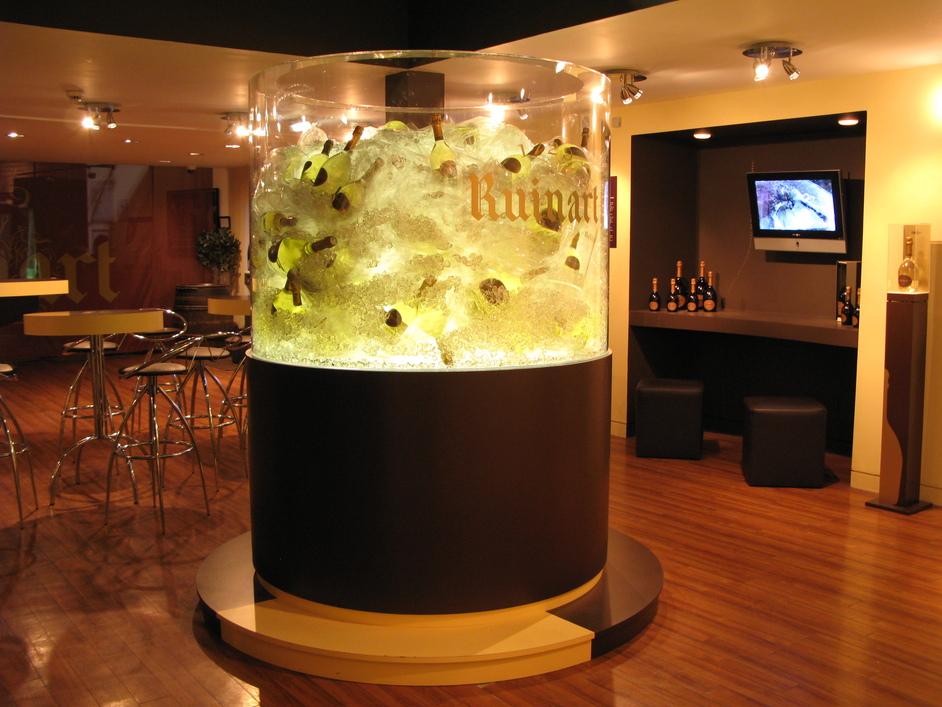 Vinopolis Wine Wharf - Ruinart Champagne Bar Area