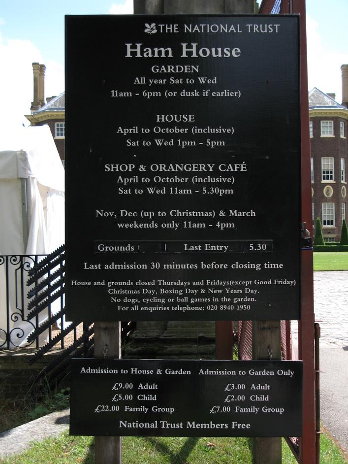Ham House & Gardens
