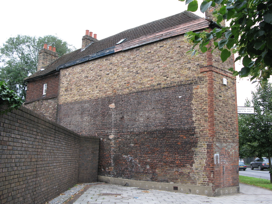 Hogarth's House - The back view of Hogarth's House