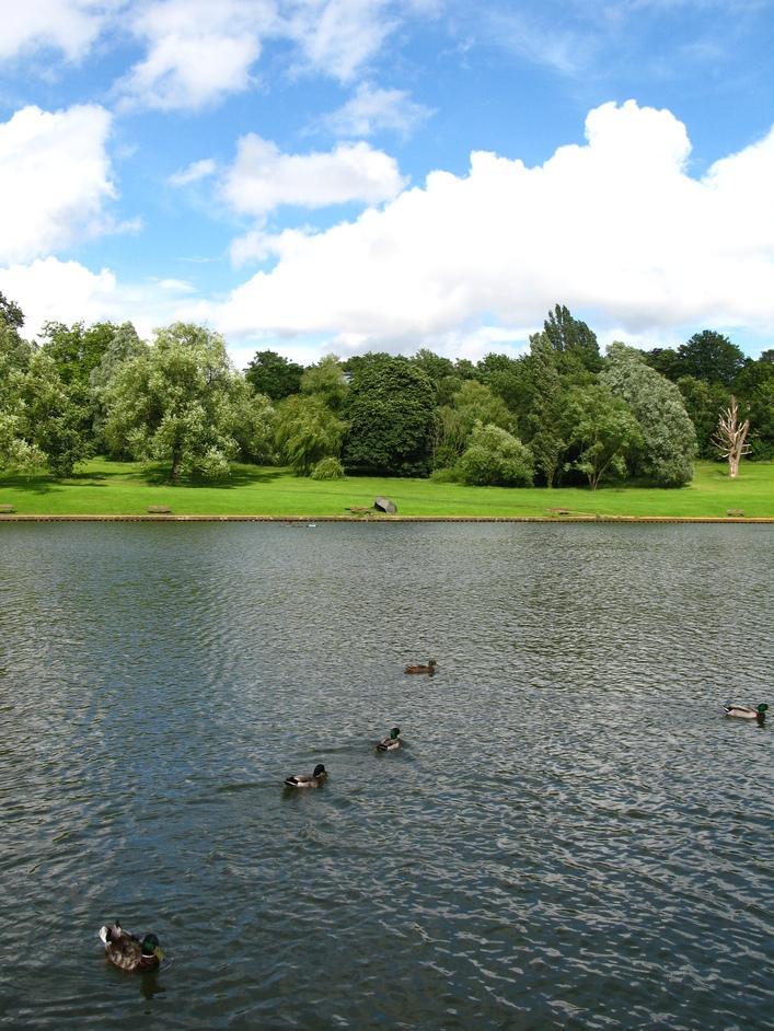 Hampstead Heath - Model boating pond