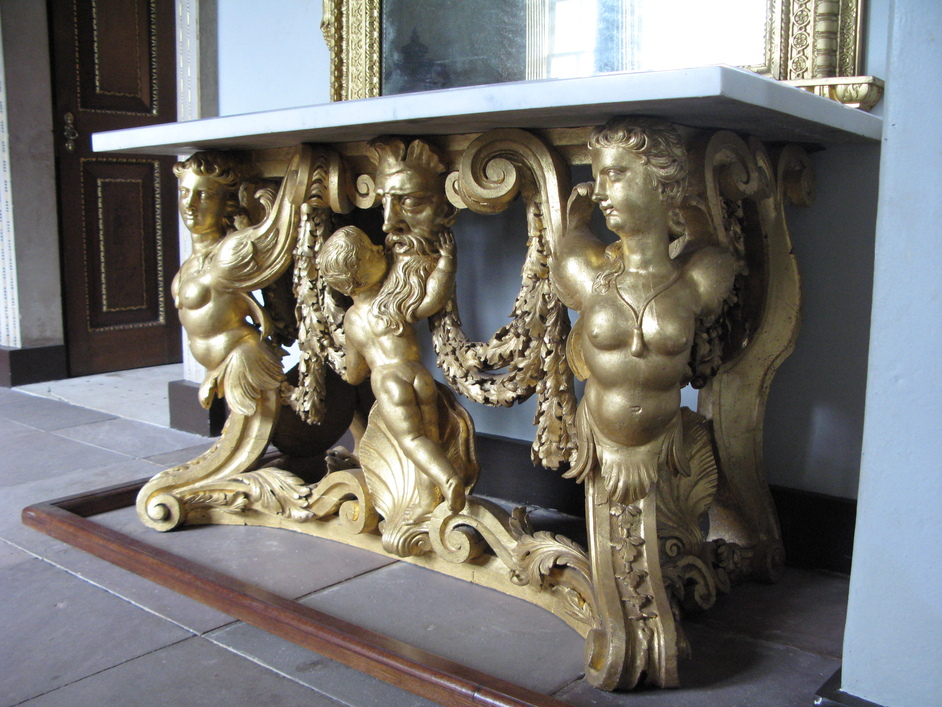 Chiswick House - ONe of the original tables, recently returned.