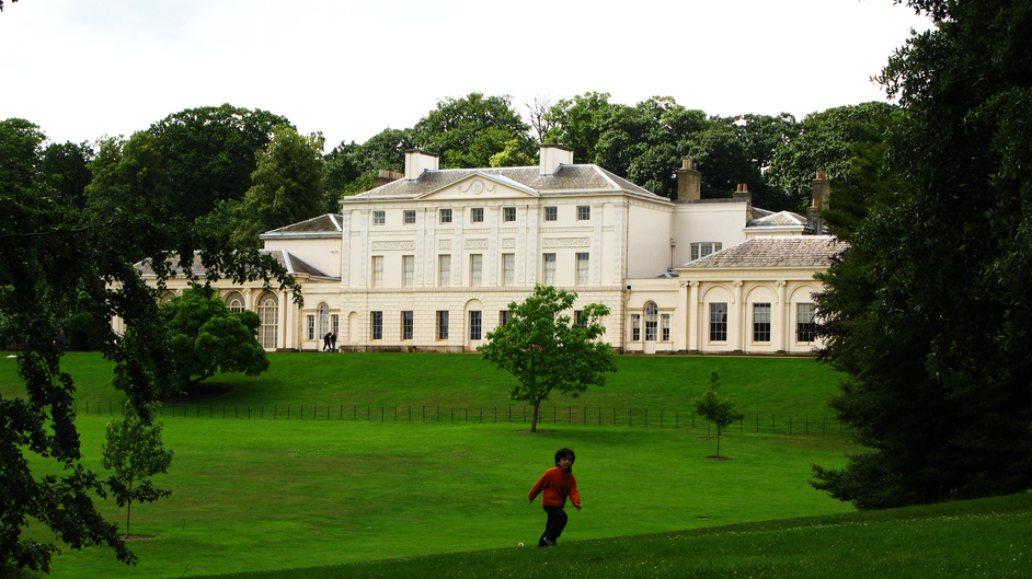 Kenwood House (Iveagh Bequest) - Kenwood House, back view