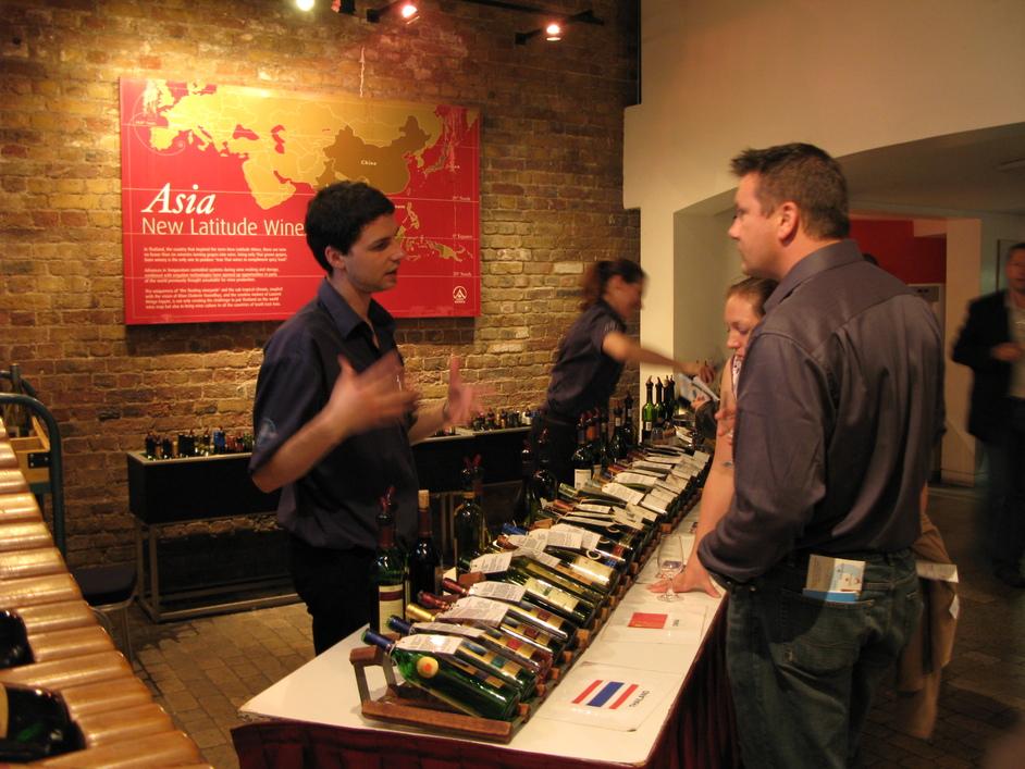 Vinopolis Wine Wharf - Asian Wines