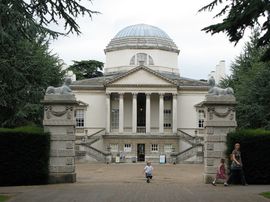 Chiswick House - Front View of Chiswick House