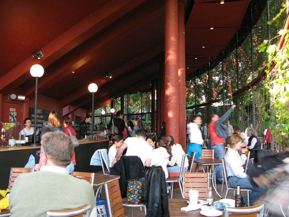 Open Air Theatre, Regent's Park - Food Area