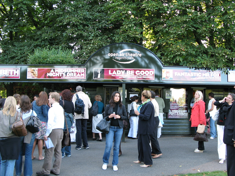 Open Air Theatre, Regent's Park - Ticketing Booth and Entrance