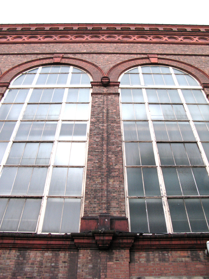 606 Club - The window panes of the factory that overlooks  606 Club