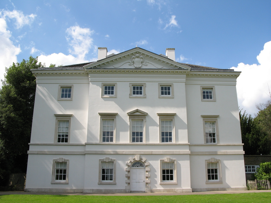 Marble Hill House - Marble Hill House - view from the back where the main entrance used to be