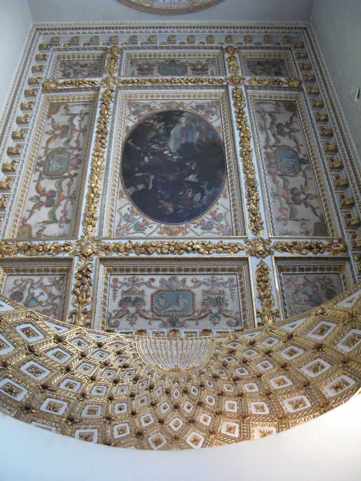 Chiswick House - The ceiling of the Gallery