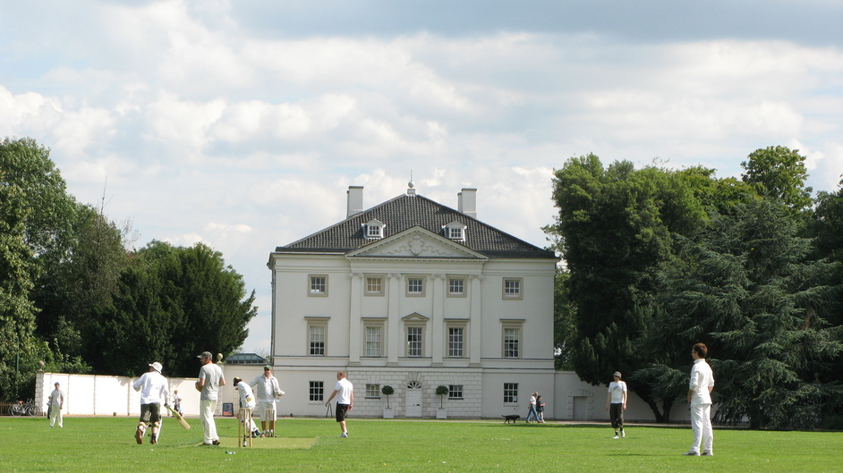 Marble Hill House - A game of cricket on the Great Field
