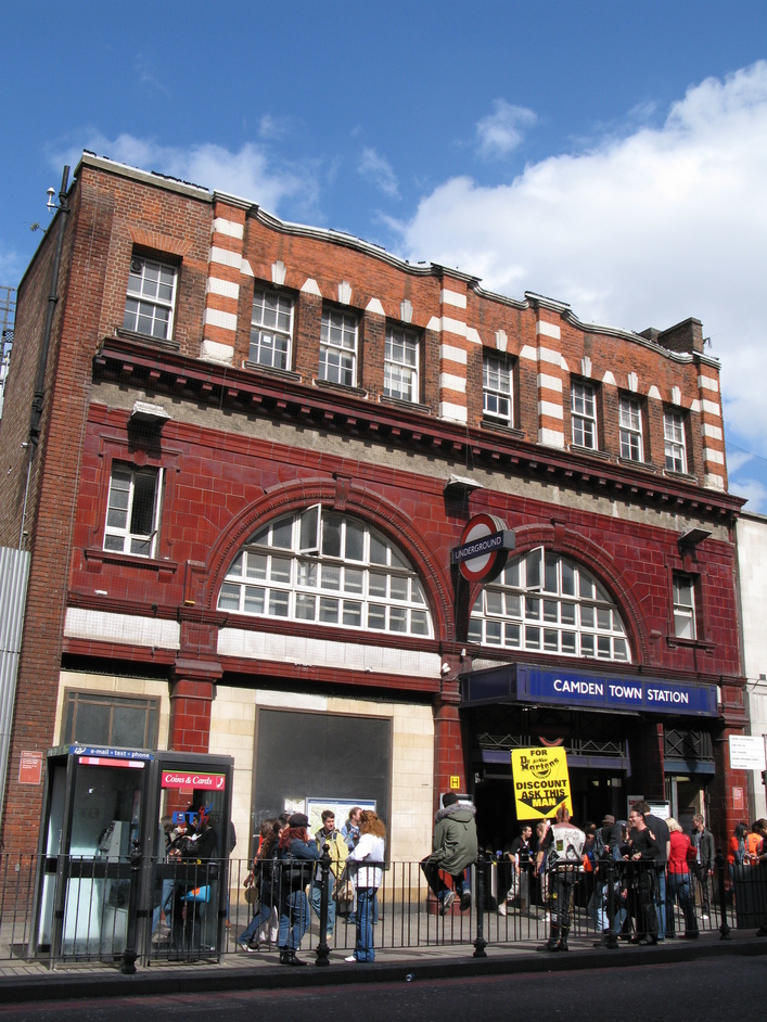 Camden Town Tube Station