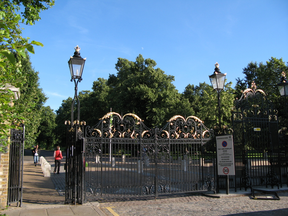 Greenwich Park - Gates to Greenwich Park