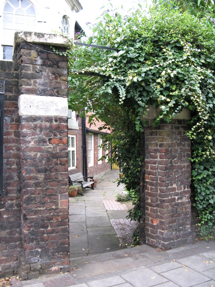 Hogarth's House - Entrance to Hogarth's House